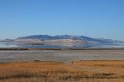 Le Grand Lac Salé dans le parc régional... (Photo Muriel Françoise, collaboration spéciale) - image 3.0
