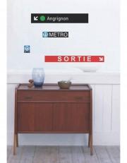 Adhésif signalétique à l'effigie de la station de... (Photo tirée du site de la boutique STM) - image 2.0