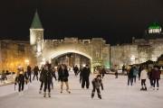 La patinoire de la place D'Youville, un des... (Photo Robert Skinner, La Presse) - image 3.0