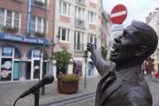 La statue de Jacques Brel.... (Photo Jean-Christophe Laurence, La Presse) - image 2.0