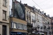 La murale controversée de l'avenue du Parc, dans... (Photo Jean-Christophe Laurence, La Presse) - image 7.0