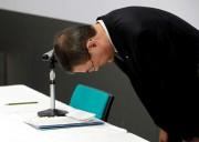 Le PDG de Subaru Yasuyuki Yoshinaga, lors de... - image 2.0