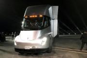 Le Tesla Semi lors de sa présentation aux... (REUTERS) - image 1.0