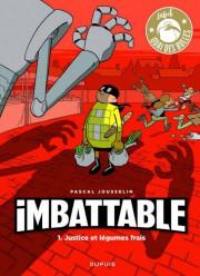 Imbattable-Justice et légumes frais... (image fournie par les Éditions Dupuis) - image 2.0
