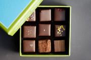 Une boîte de neuf chocolats des Chocolats de... (Photo tirée du site de l'entreprise) - image 1.0