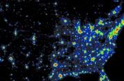 L'état de la pollution lumineuse en Amérique du... (Photo fournie par l'Observatoire du Mont-Mégantic) - image 1.0