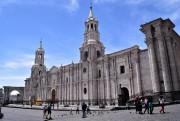 La cathédrale d'Arequipa frappe l'imaginaire tout autant par... (Photo David Riendeau, collaboration spéciale) - image 1.0