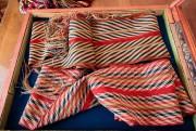 Des ceintures fléchées anciennes avec des motifs de... (Photo Hugo-Sébastien Aubert, La Presse) - image 1.1