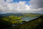 Açores, Portugal:Quatre des neuf îles de l'archipel étant... (PHOTOPATRICIA DE MELO MOREIRA, ARCHIVES AGENCE FRANCE-PRESSE) - image 1.1