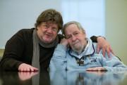 Michel La Veaux et Jean-Claude Labrecque... (Photo Olivier PontBriand, Archives La Presse) - image 1.1