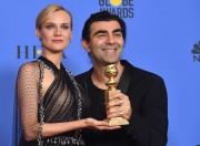 Fatih Akin pose avec l'actrice principale de son... (AFP) - image 5.0