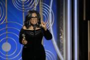 Oprah Winfrey a livré undscours de neuf minutes... (AP) - image 5.0