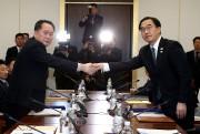 Le responsable de la délégation nord-coréenne Ri Son-Gwon... (REUTERS) - image 2.0