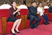 La femme deKim Jong-un, Ri Sol-ju, est la... (Photo Agence centrale de presse nord-coréenne/Associated Press) - image 1.1