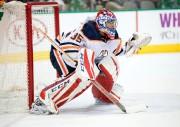 Al Montoya défend désormais les couleurs des Oilers... (PhotoJerome Miron, USA TODAY Sports) - image 2.0