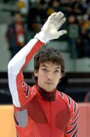 Charles Hamelin a vécu sa première expérience olympique... (Photo Bernard Brault, archives La Presse) - image 1.0