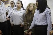 La prisonnière Ahed Tamimi... (PHOTO Mahmoud Illean, ARCHIVES AP) - image 1.0