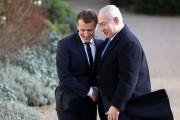 Emmanuel Macron etBenyamin Nétanyahou... (PHOTO ARCHIVES AFP) - image 2.0