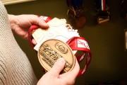 Au rez-de-chaussée, toutes les médailles et trophées de... (Photo Bernard Brault, La Presse) - image 2.0