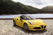 L'Alfa Romeo 4C Spider... (PHOTO FOURNIE PAR LE CONSTRUCTEUR) - image 5.0