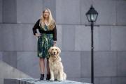Diane Bergeron et son chien guide... (Photo Martin Chamberland, Archives La Presse) - image 1.0