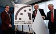 Dévoilement de l'horloge de l'Apocalypse l'année dernière... (PhotoCarolyn Kaster, Archives Associated Press) - image 1.0
