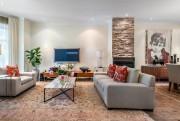 Le salon a eu une nouvelle acquisition:un foyer... (Photo fournie par Engel&Völkers) - image 3.0