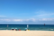 La plage de Gyeongpo, à Gangneung, est l'une... (Photo Violaine Ballivy, La Presse) - image 2.0