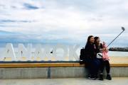La plage d'Anmok est réputée pour son «avenue... (Photo Violaine Ballivy, La Presse) - image 3.0