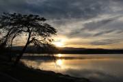 Le lac Gyeongpoho est particulièrement joli au coucher... (Photo Violaine Ballivy, La Presse) - image 5.0