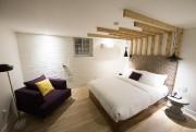 Même les chambres situées au sous-sol sont lumineuses.... (Photo Robert Skinner, La Presse) - image 2.0
