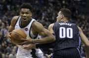 Giannis Antetokounmpo... (Photo Morry Gash, AP) - image 1.0