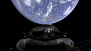 Point de vue de la Terre de la... (PHOTO FOURNIE PAR SPACEX) - image 1.1