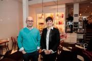 Lionel May et Juliette Brun, propriétaires de Juliette&Chocolat... (PHOTO HUGO-SÉBASTIEN AUBERT, LA PRESSE) - image 1.0