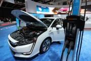 La Honda Clarity hybride rechargeable 2018 lors du... - image 3.0