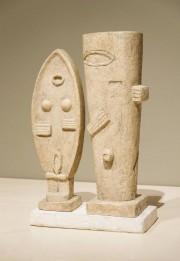 Le couple.Sculpture de 1927, en plâtre, 60,4cm x... (Photo fournie par le Musée national des beaux-arts du Québec) - image 2.0