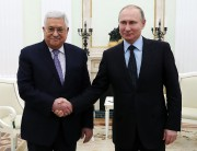 Mahmoud Abbas a rencontré Vladimir Poutine lundi à... (AP) - image 3.0