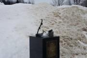 Ce qu'il reste de la sculpture J'irai au... (Photo fournie par la Fonderie d'art d'Inverness) - image 2.0
