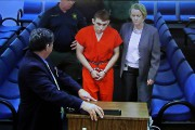 Le présumé tireur Nikolas Cruz a comparu devant... (Photo Susan Stocker, South Florida Sun-Sentinel via AP) - image 1.0