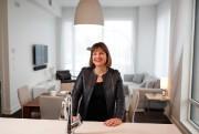 Annie Lemieux, présidente de LSR Gesdev... (Photo Martin Chamberland, La Presse) - image 1.0