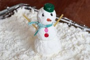 Le bonhomme de neige maison.... (Photo Robert Skinner, La Presse) - image 2.0