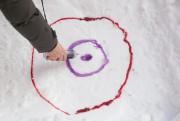 À une extrémité, on dessine des cercles concentriques... (Photo David Boily, La Presse) - image 1.1