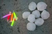 Des boules de neige avec
