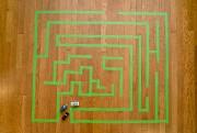 Un labyrinthe pour petites voitures.... (Photo David Boily, La Presse) - image 3.0