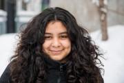 Emily Polanco, 14 ans... (Photo Marco Campanozzi, La Presse) - image 1.0