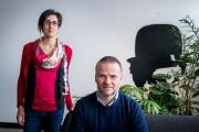 Ariane Giroux-Dallaire et Charles Tremblay... (PHOTO MARCO CAMPANOZZI, LA PRESSE) - image 4.0