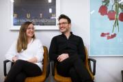 François Delisle et son associée.... (Photo Olivier Pontbriand, La Presse) - image 5.0