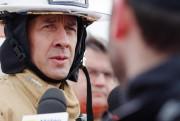 Bruno Lachance, directeur du Service de sécurité incendie... (PHOTO NINON PEDNAULT, ARCHIVES LA PRESSE) - image 1.0