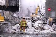 Les incendies que les pompiers doivent combattre sont... (PHOTO BERNARD BRAULT, ARCHIVES LA PRESSE) - image 1.1