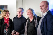 Natalie Choquette, Daniel Gélinas, Serge Fiori et le... (Photo Marco Campanozzi, La Presse) - image 2.0